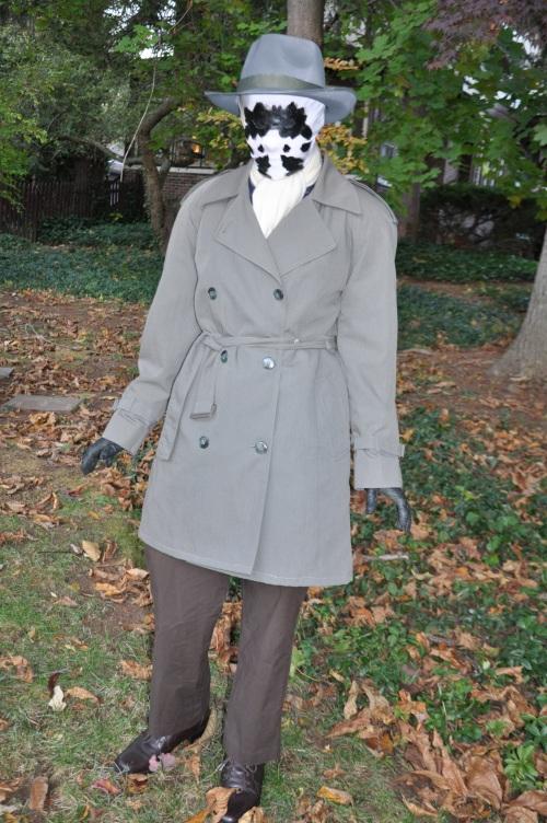 Sadie as Rorschach