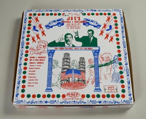 Pizza box by Joe Waks