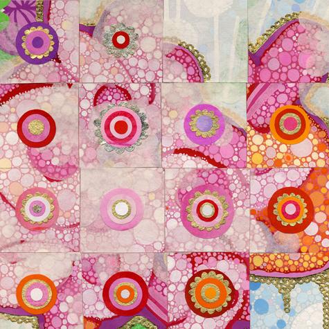 Bubble Thanka (detail) © Nancy Tobin
